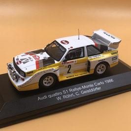 Audi Quattro Sport S1 E2 - W.Rohrl - Montecarlo Rally (1986)