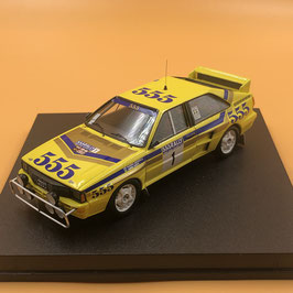 Audi Quattro A2 - H.Mikkola - Hong Kong Bejing Rally (1985)