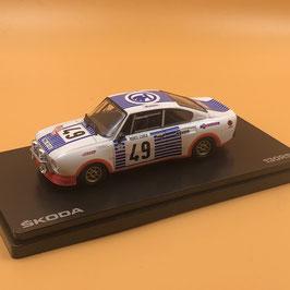 Skoda 130 RS Coupé - V.Blahana - Montecarlo Rally (1977)