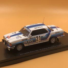Mercedes 280 CE Gr.3 - Bohne - Montecarlo Rally (1980)