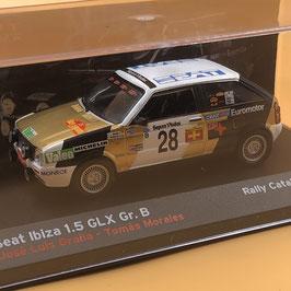 SEAT Ibiza 1.5 GLX - J.L.Grana - Catalunya Rally (1986)