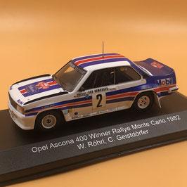 Opel Ascona 400 - W.Rohrl - Montecarlo Rally (1982)
