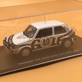 Volkswagen Golf Diesel - J.Kleint - Montecarlo Rally (1978)
