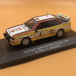 Audi Quattro A2 - W.Rohrl - Portugal Rally (1984)