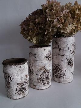 vase bouleau blanc