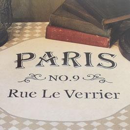 Stencil Paris Rue Le Verrier