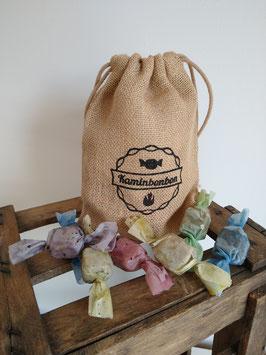 Kaminbonbons im Jutebeutel - Farbe BUNT GEMISCHT