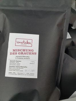 Mischung des Grauens - Espresso Lagerverkauf