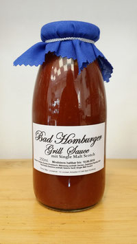 Bad Homburger Grill Sauce 250ml