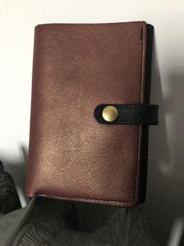 Porte-carte et monnaie cuir