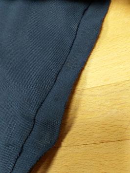 Baumwoll-Pique dunkelblau, Grundpreis: 11,90€/m