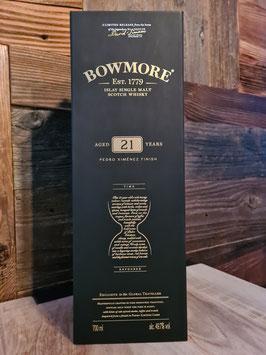 Bowmore 21  Pedro Ximénez Finish