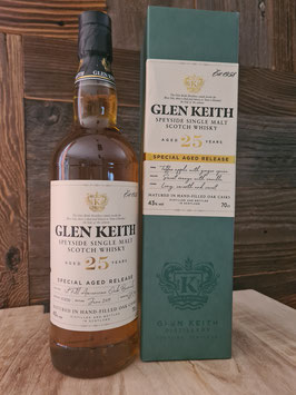 Glen Keith 25 - Special Aged Release