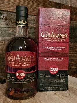 GlenAllachie 2008/2020 Vintage Cuvée Cask Finish