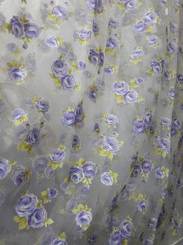 Розы (фиолетовые).