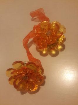Пионы (оранжевые).