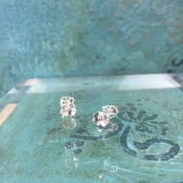 Little Silver Flower Stud Earrings