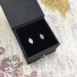 Little Silver Leaf Stud Earrings
