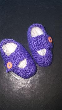 Baby-Finkli  'Sandale' Violette (Nr. 10)