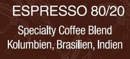 Alukapseln Espresso 80/20  - Blend Kolumbien, Brasilien und Indien