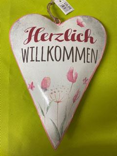 """""""Gilde""""   Blechherz Herzlich Willkommen"""
