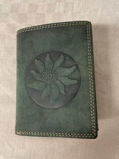 Geldbörse Edelweiß grün