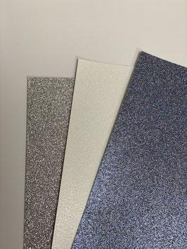 Papier Glitter verschiedene