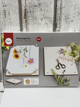 Blumenpresse A4 aus Pappelsperrholz zum Pressen von Blumen Blättern und Gräsern