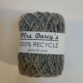 Pelote qualité laine RECYCLÉE 'gris aluminium'