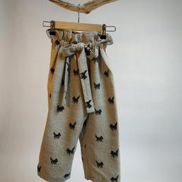Pantalon BIO 'meute' pour enfant 0 à 4 ans