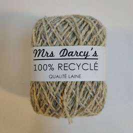 Pelote qualité laine RECYCLÉE 'beige chanvre'