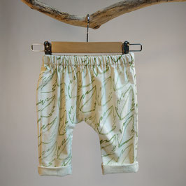 Pantalon 'feuilles' BIO pour enfant 0 à 4 ans