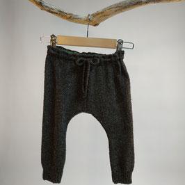 Pantalon 'poivre' jersey endroit RECYCLÉ pour enfant 0 à 4 ans