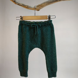 Pantalon 'fougère' jersey endroit RECYCLÉ pour enfant 0 à 4 ans