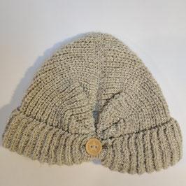 Bonnet façon turban RECYCLÉ 'chanvre' pour femmes