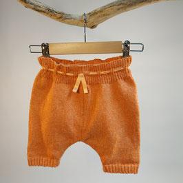 Pantacourt 'orange corail' rétro RECYCLÉ pour enfant 0 à 4 ans