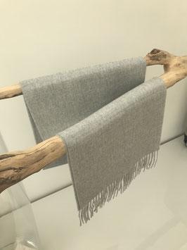 Alpaca scarf - 100% Premium Baby Alpaca - Light Grey