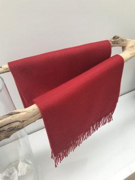 Alpaca sjaal - 100% Baby Alpaca - Rood