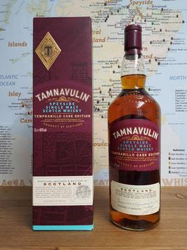 Tamnavulin Tempranillo Cask Edition - 40% vol. - 1,0 L.