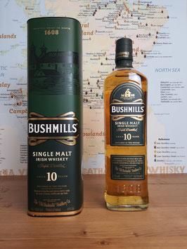 Bushmills 10 Y, 40%,