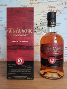 GlenAllachie 10 Jahre - Portwood Finish 46%