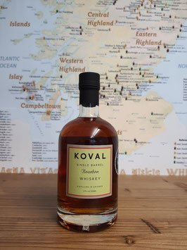 Koval Bourbon Single Barrel Whiskey 47% vol.