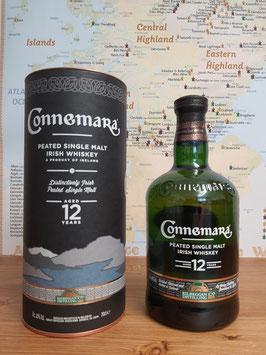 Connemara 12 YO Peated  40% vol.