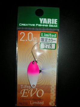 Yarie T-fresh evo 2g Y78
