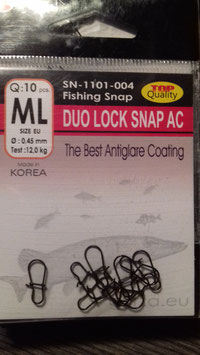Duo Lock SNAP AC  10 Stück Gurza