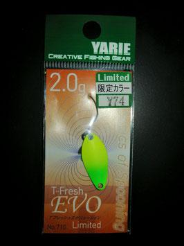 Yarie T-Fresh evo 2g Y74