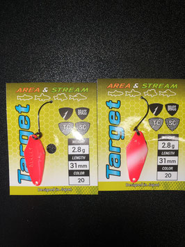 Favorite Select Spoon Target 2,8g Color 20