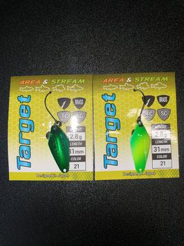 Favorite Select Spoon Target 2,8g Color 21