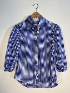 GRAUBNER | Bluse kariert - blau/weiß