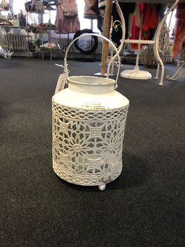 Laterne metall shabby chic